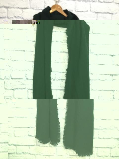 Tibi Forest Green scarf